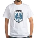 White T - Blue 2K8 Logo and PFF Back