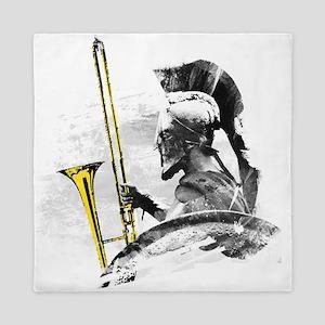 Trombone Warrior Queen Duvet