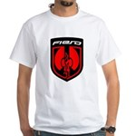 White T - Red 2K8b and PFF Back