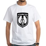 White T - White 2K8b Logo and PFF Back