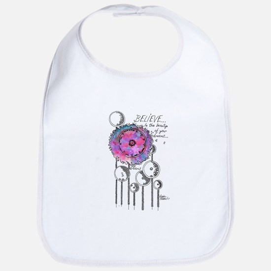 Believe in the Beauty of Your Dreams Baby Bib