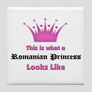 This is what an Romanian Princess Looks Like Tile