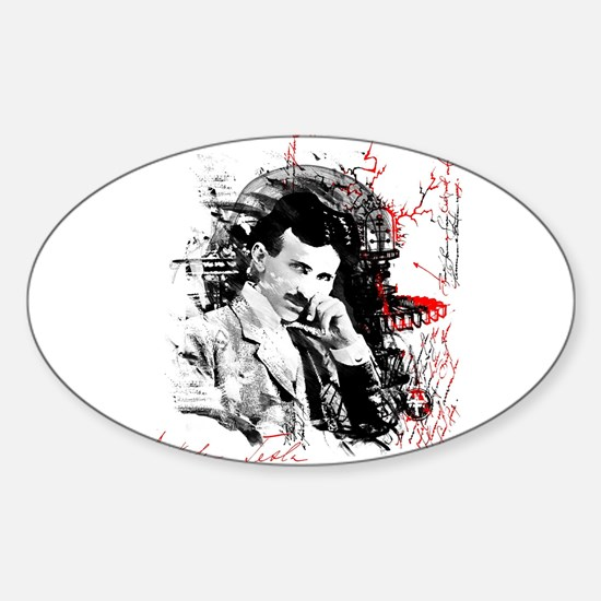 Nikola Tesla Decal