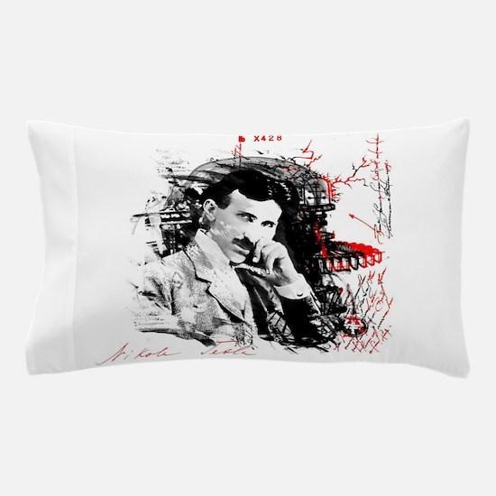 Nikola Tesla Pillow Case