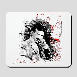 Nikola Tesla Mousepad