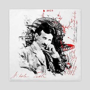 Nikola Tesla Queen Duvet