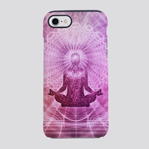 Spiritual Yoga Meditation Ze iPhone 8/7 Tough Case