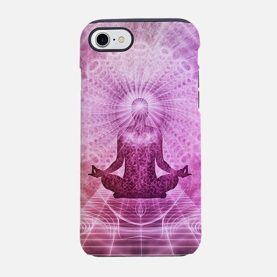 Spiritual Yoga Meditation Ze iPhone 8/7 Tough Case