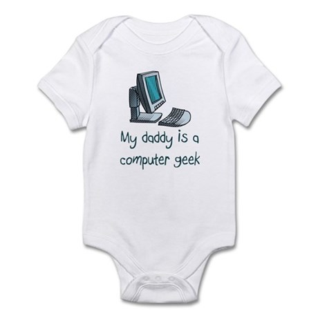 Computer Geek Infant Bodysuit
