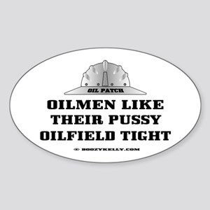 Oilfield Tight Oval Sticker