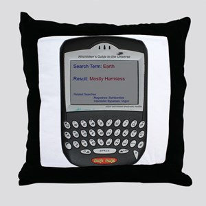 Hitchhikers Blackberr - Throw Pillow