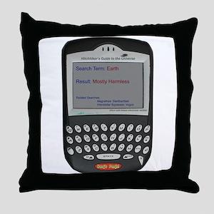 Hitchhikers Blackberr - Throw Pillow