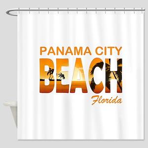 Florida - Panama City Beach Shower Curtain