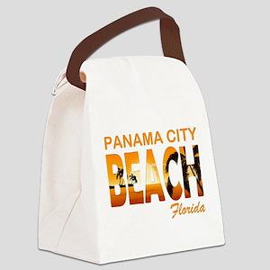 Florida - Panama City Beach Canvas Lunch Bag