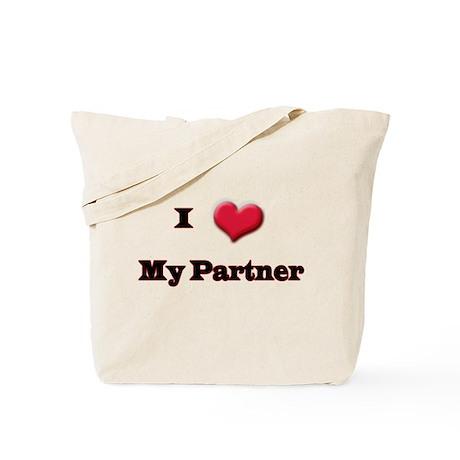 My Partner Tote Bag