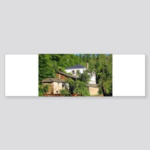 Farmhouse along El Camino, Spain Bumper Sticker
