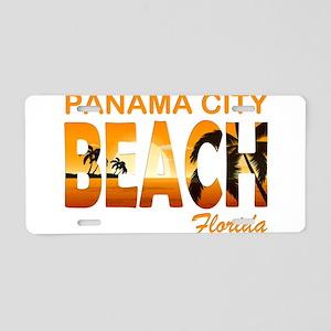 Florida - Panama City Beach Aluminum License Plate