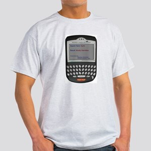 Hitchhiker's Blackberry -  Ash Grey T-Shirt