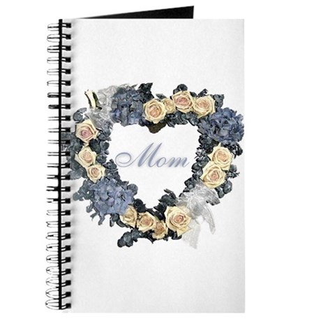 Mom Violet Wreath Journal