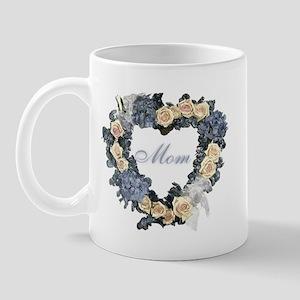 Mom Violet Wreath Mug