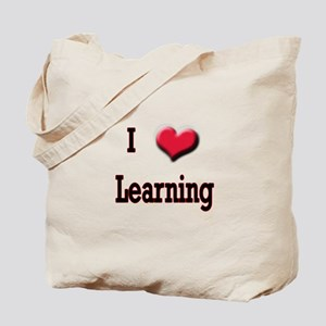 I Love (Heart) Learning Tote Bag