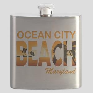 Maryland - Ocean City Flask