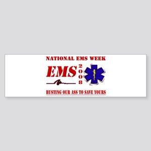 National EMS Week Gifts Bumper Sticker