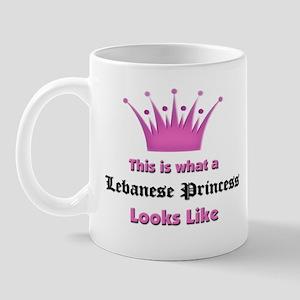 This is what an Lebanese Princess Looks Like Mug