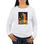 Fairies / Briard Women's Long Sleeve T-Shirt