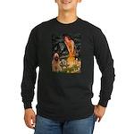 Fairies / Briard Long Sleeve Dark T-Shirt