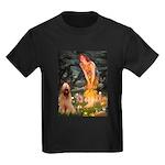 Fairies / Briard Kids Dark T-Shirt