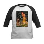 Fairies / Briard Kids Baseball Jersey