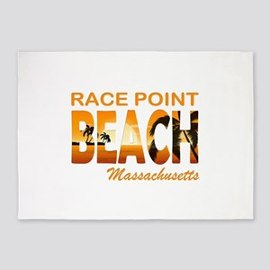 race point 5'x7'Area Rug