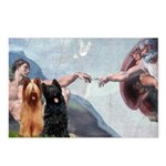 Creation / Briard Postcards (Package of 8)