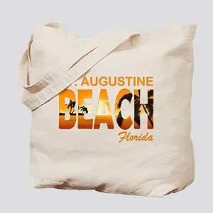 Florida - St. Augustine Beach Tote Bag