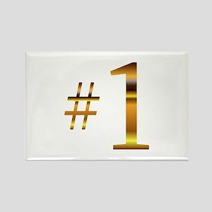#1 Attitude Rectangle Magnet