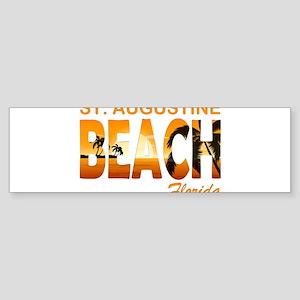 Florida - St. Augustine Beach Bumper Sticker