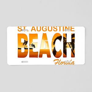Florida - St. Augustine Bea Aluminum License Plate