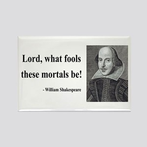 Shakespeare 2 Rectangle Magnet