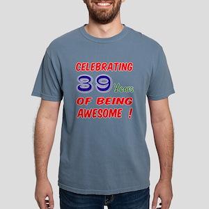 Celebrating 39 Years Of Mens Comfort Colors Shirt