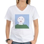 Blue Eyes Women's V-Neck T-Shirt