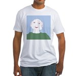 Blue Eyes Fitted T-Shirt