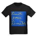 Limit Your Limits Kids Dark T-Shirt