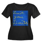 Limit Your Limits Women's Plus Size Scoop Neck Dar