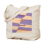 Crossed Boundaries Tote Bag