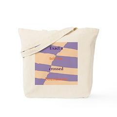 Crossed Boundaries Tote Bag