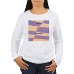 Crossed Boundaries Women's Long Sleeve T-Shirt