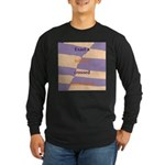 Crossed Boundaries Long Sleeve Dark T-Shirt