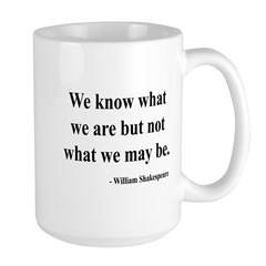 Shakespeare 3 Large Mug