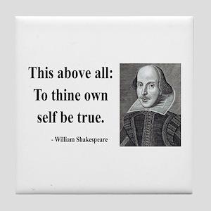 Shakespeare 5 Tile Coaster